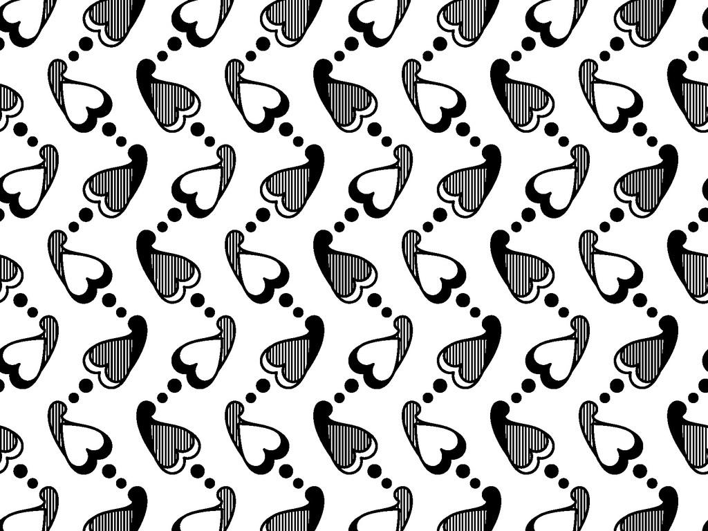 我图网提供精品流行爱心花纹印花图案素材下载,作品模板源文件可以编辑替换,设计作品简介: 爱心花纹印花图案 矢量图, CMYK格式高清大图,使用软件为 Illustrator CS5(.ai) 装饰花纹 包装纸图案