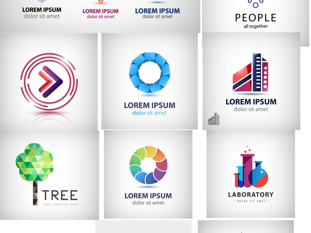设计作品简介: 文字商标设计图形品牌标志时尚图标 矢量图, rgb格式