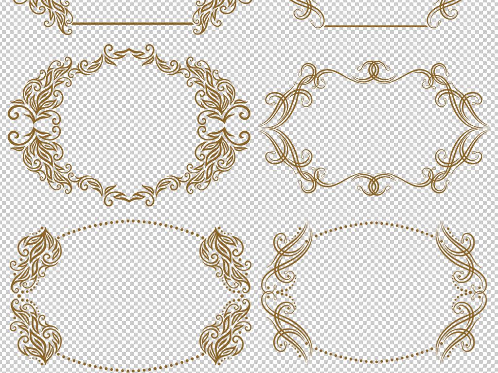 png)                                  花纹边框素材边框花纹欧式花