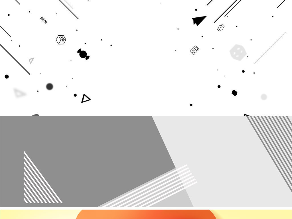 背景素材 其他 > 淘宝红色促销打折活动偏平化轮播图