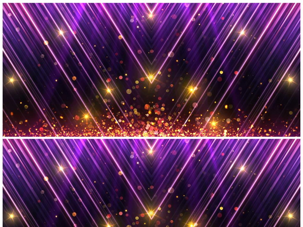 震撼大氣粒子光線節日慶典企業年會頒獎背景圖片