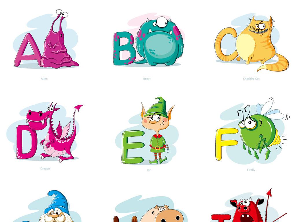 我图网提供精品流行可爱英文字母设计模板学校英语教学海报展板素材下载,作品模板源文件可以编辑替换,设计作品简介: 可爱英文字母设计模板学校英语教学海报展板素材 矢量图, RGB格式高清大图,使用软件为 Illustrator CS5(.eps)