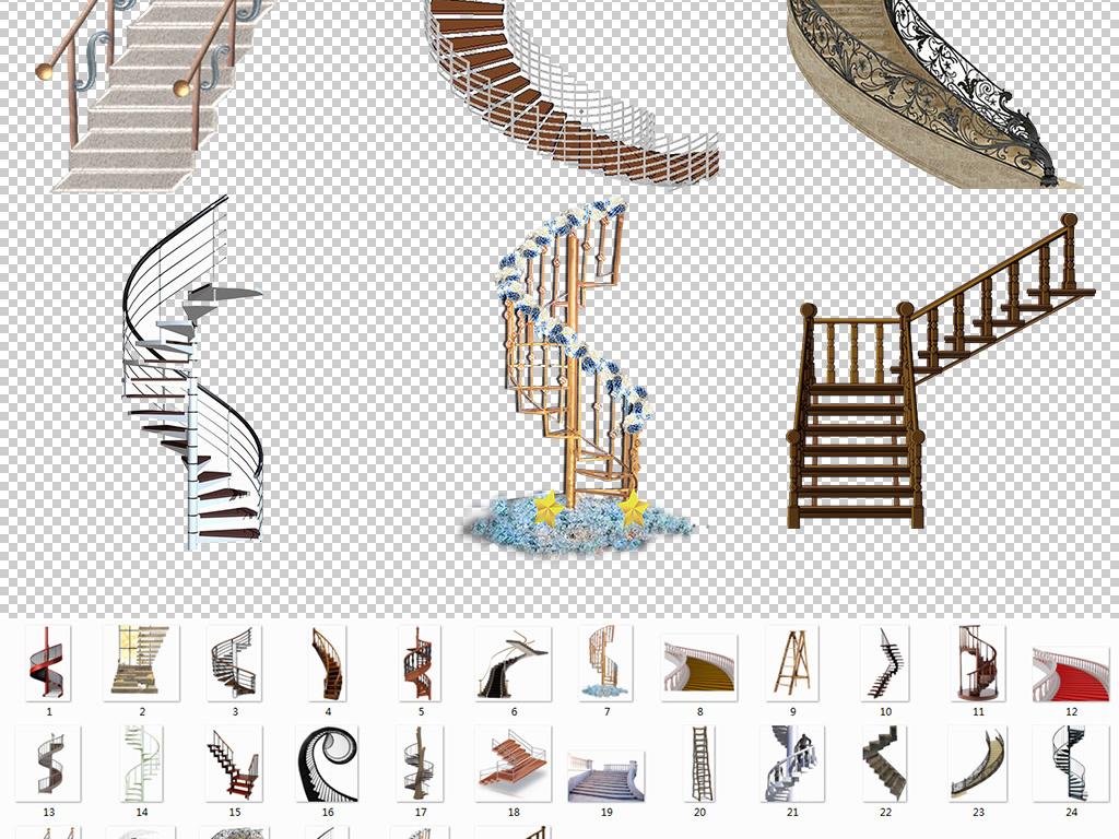 阶梯手绘楼梯