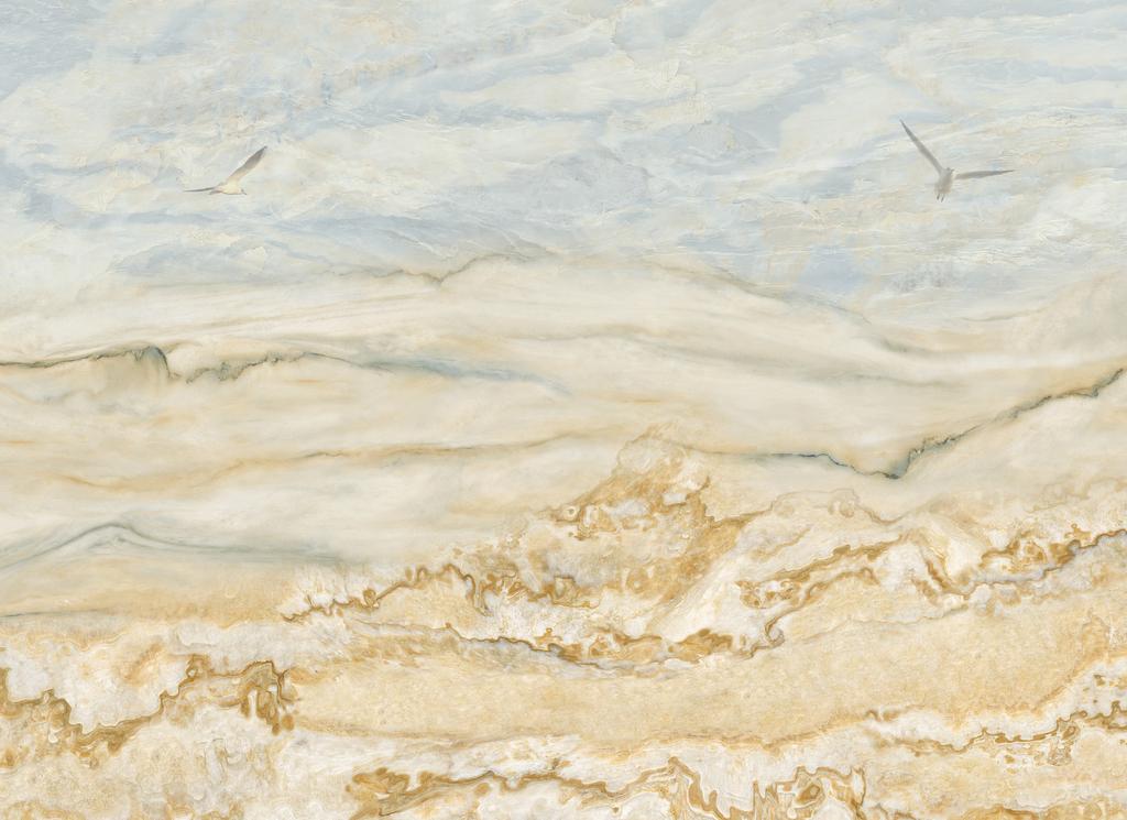 大理石贴图|木材贴图 大理石贴图 > 浅黄色欧式背景瓷砖背景墙  版权图片