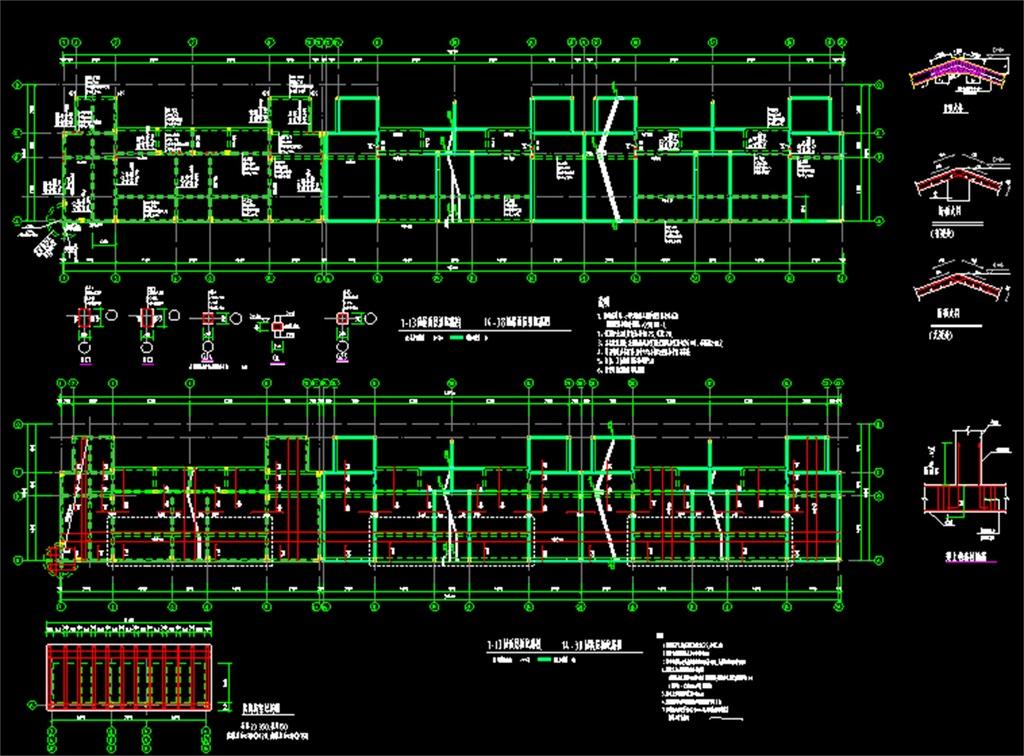 我图网提供独家原创六层混合结构住宅楼CAD结构施工图正版素材下载, 此素材为原创版权作品,作品,作品体积为,是设计师QQ6A6A6E5E在2017-04-29 12:44:54上传, 素材尺寸/像素为-高清品质图片-分辨率为, 颜色模式为,所属CAD图纸分类,此原创格式素材图片已被下载1次,被收藏77次,素材中如有人物画像仅供参考禁止商用。 住宅楼结构施工图 住宅楼大样图 住宅楼建筑施工图 混合结构建筑图 混合结构住宅施工图 楼梯大样图 老虎窗 住宅楼CAD结构设计图 混合结构施工图 混砖结构施工 施工图