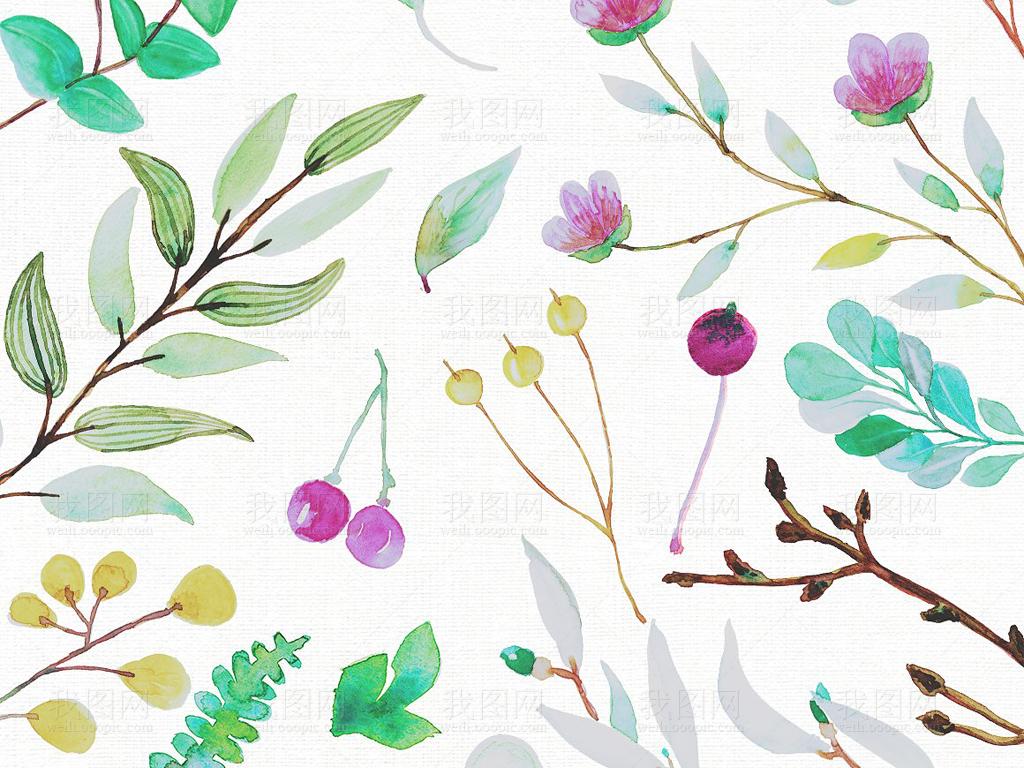 幼儿园树叶贴画展板