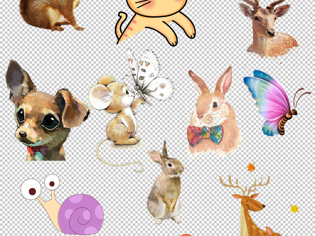 设计卡通动物设计动物书签设计模板设计动物动物设计图片动物书签设计