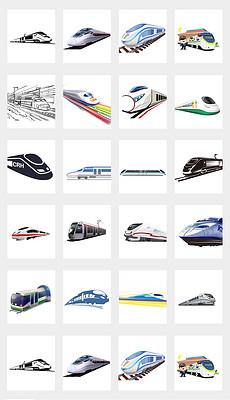 DOC简笔画火车 DOC格式简笔画火车素材图片 DOC简笔画火车设计模板 我图网