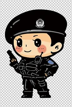 卡通女警察图片素材 卡通女警察图片素材下载 卡通女警察背景素材 卡