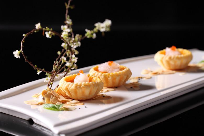 中华美食金汤酥皮雪蛤蛋挞