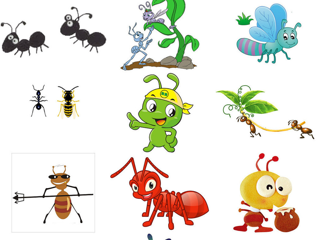 蚂蚁爬行类素材恐龙免抠png透明卡通1动物半岛图片