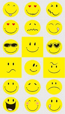 PSD不分层各种笑脸图 PSD不分层格式各种笑脸图素材图片 PSD不分层各种笑脸图设计模板 我图网