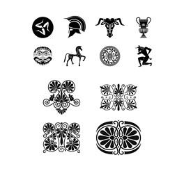 古典图腾传统图腾矢量素材图片