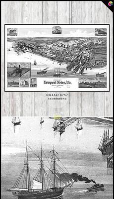 抽象黑白素描世界地图欧式复古电视背景墙-书架背景墙图片 书架背景