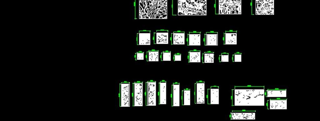 植物花草浮雕CAD源文件盆栽cad立面图图片