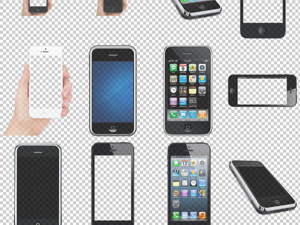 各种苹果手机免抠png透明图层素材图片 模板下载 11.74MB 其他大全 标志丨符号