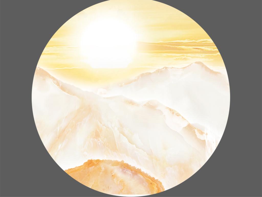 新中式大理石纹石材流水生财山水画图片设计素材 高清模板下载 276.14MB 大理石背景墙大全图片