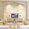 奢华欧式大理石纹理山水画电视背景墙云中歌
