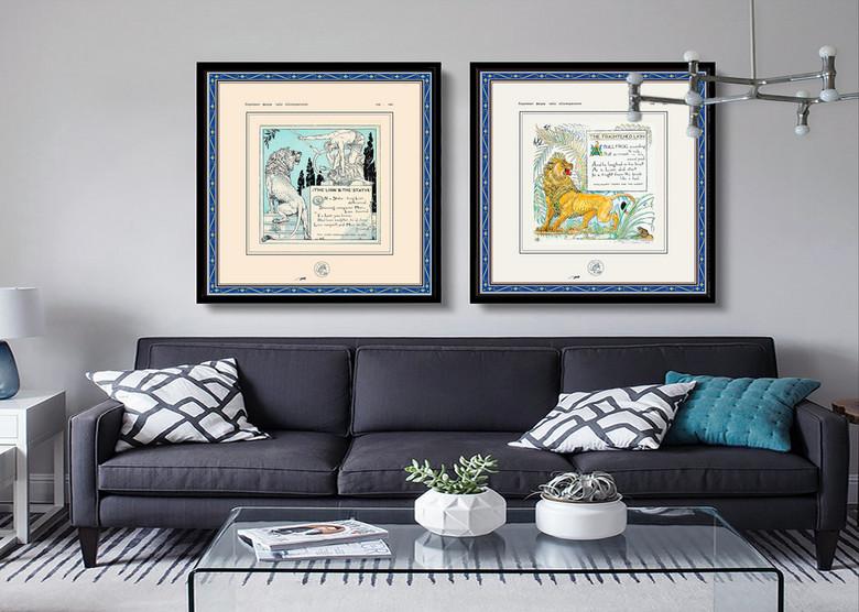 花卉植物油画人物油画床上用品图案欧式纺织品图案童话故事素材