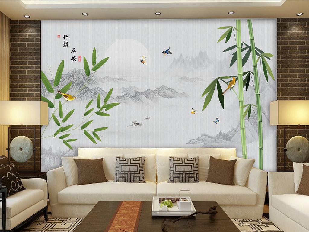 竹子图片风景图片