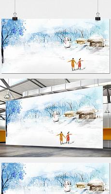 冬天雪景图片素材 冬天雪景图片素材下载 冬天雪景背景素材 冬天雪景