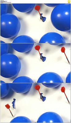 普通气球爆炸是什么原理_气球爆炸图片