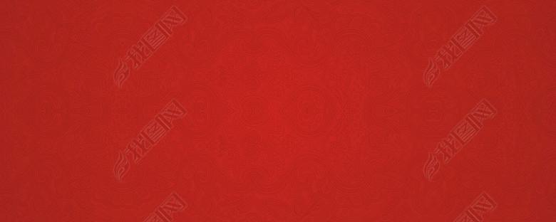 淘宝双11红色传统纹样中国风底纹背景图图片