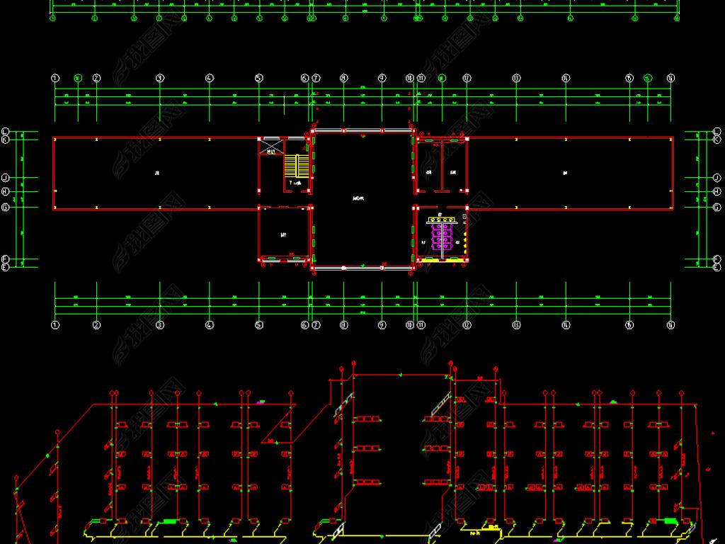 产品办公楼v产品CAD兽药设计图平面全套包装设计要求图片