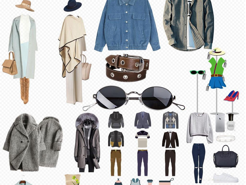 女装衣服搭配服装设计素材图片