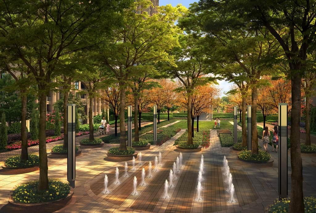 住宅园林景观分层psd图片素材 psd模板下载 200.75MB 其他大全 生活工作