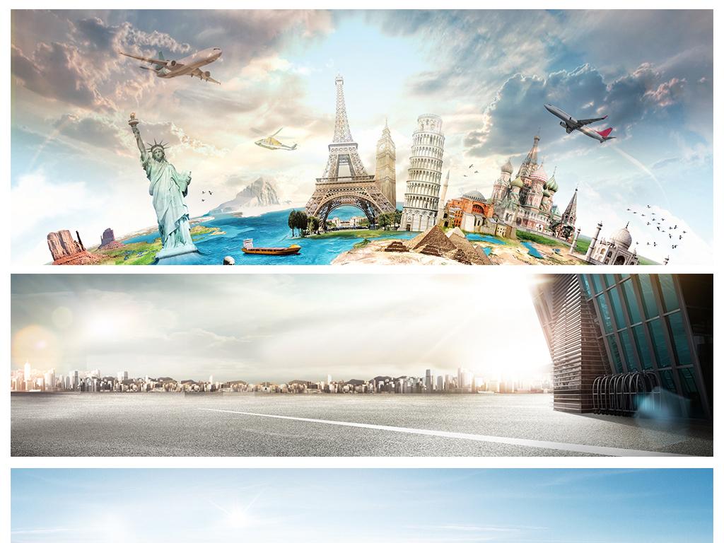 商务商业简约大气城市建筑夜景海报背景素材图片设计 高清模板下载 6.72MB 科技 商务大全