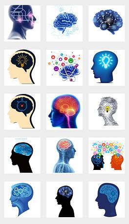 PNG人脑结构 PNG格式人脑结构素材图片 PNG人脑结构设计模板 我图网