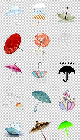 PNG伞图 PNG格式伞图素材图片 PNG伞图设计模板 我图网