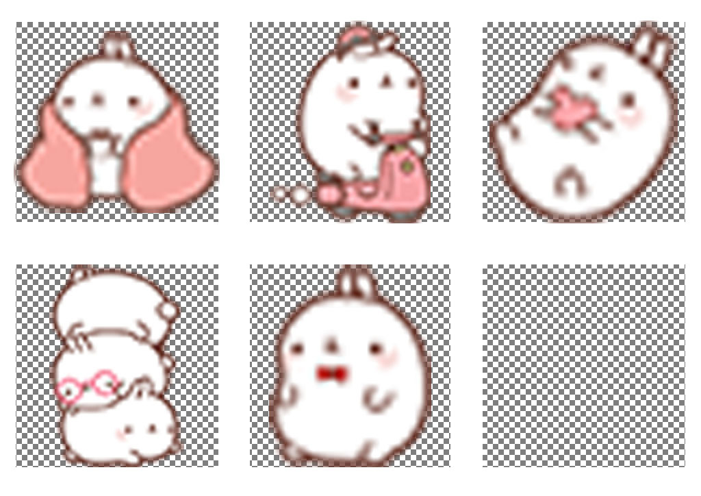 幼儿园小学生简笔画胖兔子PNG透明背景图片素材 模板下载 1.98MB 其他大全 标志丨符号