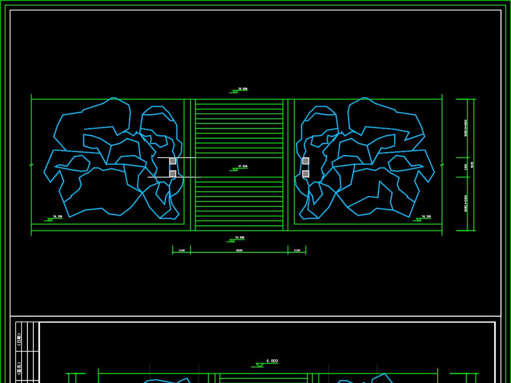 古建筑图片大门CAD假山平面设计图下载(图纸国企ui招聘设计要求图片