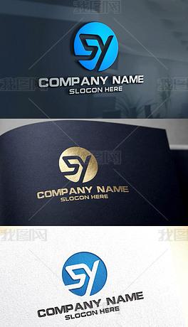 sy设计logo sy设计logo模板下载 sy设计logo图片设计素材 我图网图片