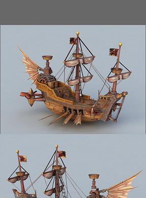 帆船模型设计图下载 图片4.78MB 其他模型库 其他模型图片