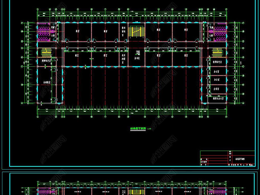 办公楼建筑与结构设计专题_2020年办公楼建筑与结构设计资料下载