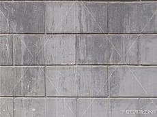 灰色做旧大砖墙面材质库素材背景贴图-3D材质库图片素材 3D材质库图