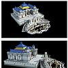 古代古建筑圆明园大水法皇家园细节3D模型