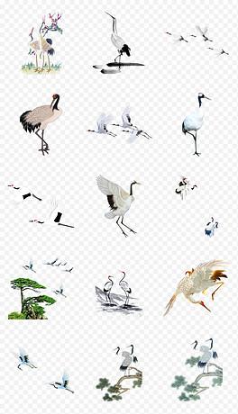 PNG水墨喜鹊 PNG格式水墨喜鹊素材图片 PNG水墨喜鹊设计模板 我图网
