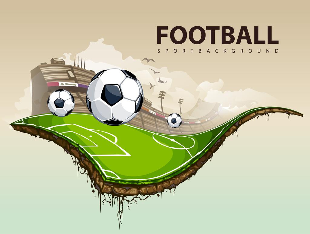 获奖足球比赛儿童画(2)_可可简笔画