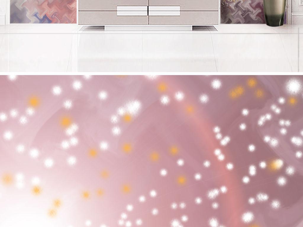 ins风唯美宇宙星辰光晕背景墙图片设计素材 高清模板下载 119.51MB