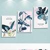 现代简约创意热带植物清新北欧客厅装饰画