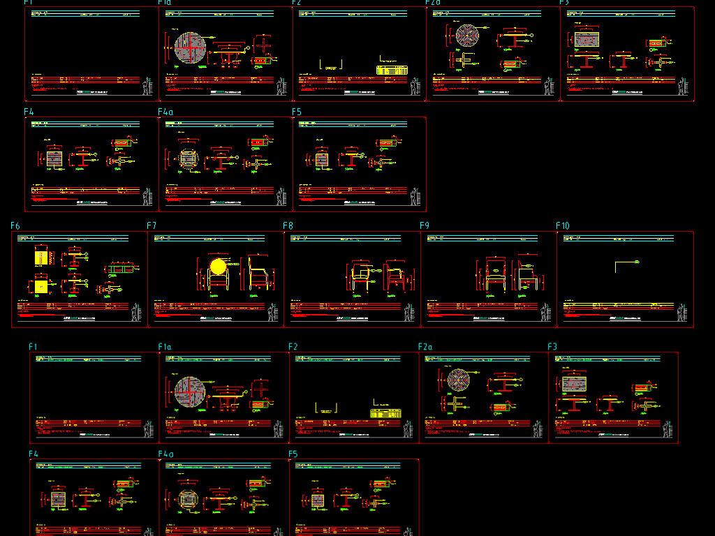 咖啡厅cad施工设计方案含绿化平面图下载(图片7.29mb)