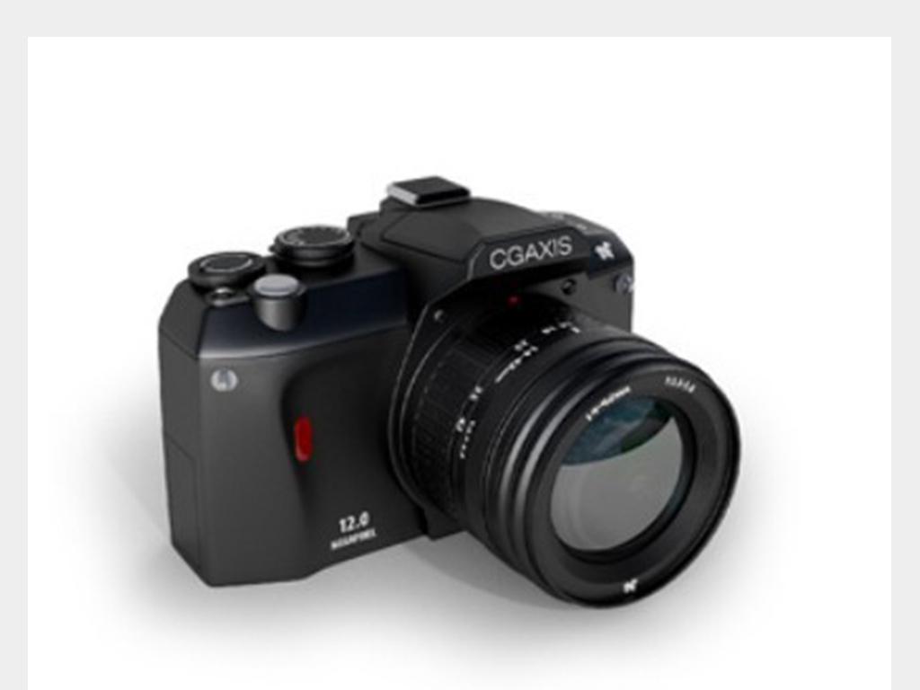 3d单反相机模型设计图下载(图片1.64mb)_电子产品库