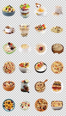 MP4牛奶燕麦片 MP4格式牛奶燕麦片素材图片 MP4牛奶燕麦片设计模板 我图网