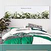 北欧ins风简?#21450;?#33394;小清新菊花客厅卧室无框床头画