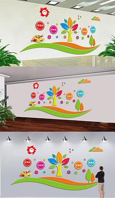 创意立体装饰画美术教室幼儿园艺术文化墙