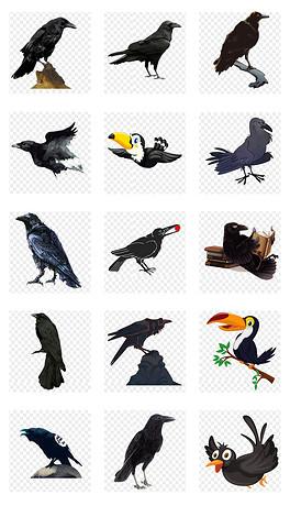 PNG卡通动物简笔画图片